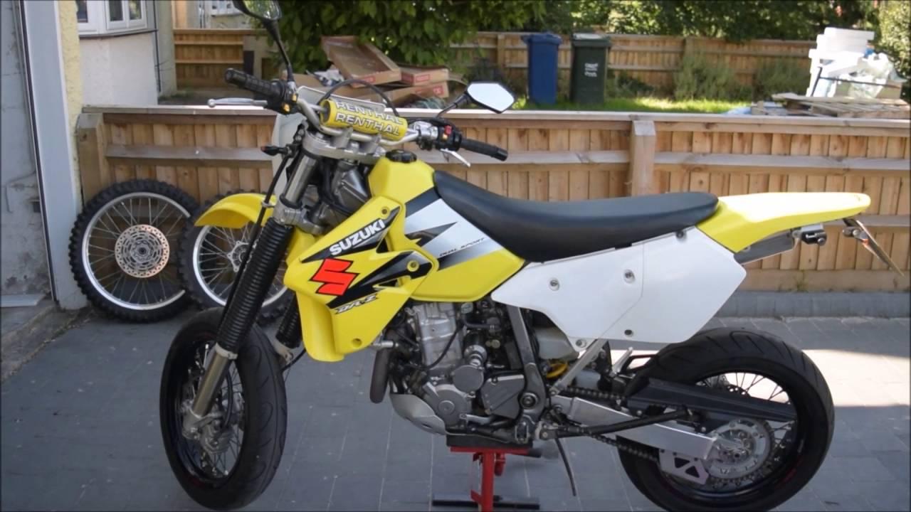 Suzuki Drz 125 >> Suzuki DRZ 400 supermoto conversion and mods - Intro to ...