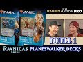 Duell 1 Ravnicas Treue Planeswalker Decks Magic the Gathering deutsch traderonlinevideo MTG Trader
