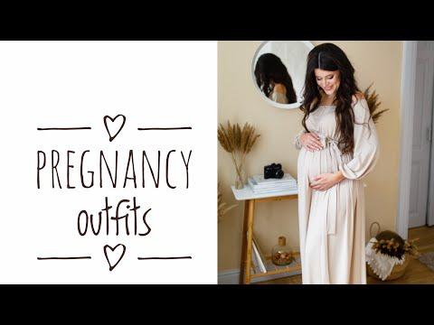 СТИЛЬНАЯ БЕРЕМЕННОСТЬ 🤰 Гардероб для беременной