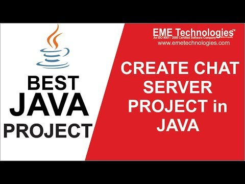 How To Create CHAT SERVER Application In Java | Download Java Project Source Code