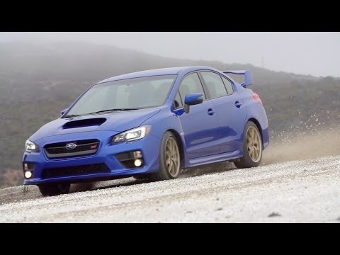 ► 2015 Subaru WRX STI dirt road test drive