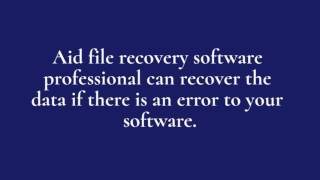 Video Recovery Software