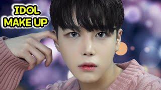 흔남에서 훈남으로! 남자 아이돌 메이크업/컬러렌즈/K-POP IDOL MAKEUP /남자메이크업/SINCOOK-E 신쿡e