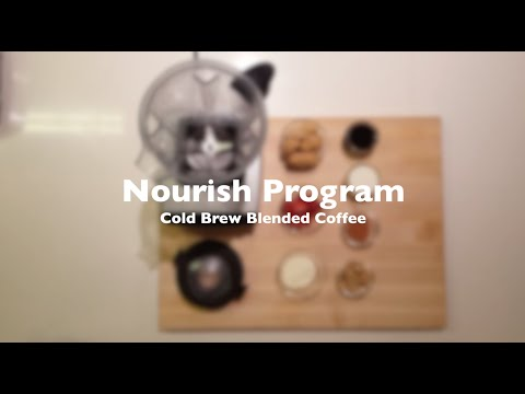 Thumbnail to launch Cold Brew Blended Coffee: Nourish Program video