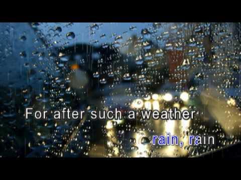 我的視訊 Let it rain -karaoke