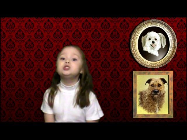 Изображение предпросмотра прочтения – ЕлизаветаХребтова читает произведение «Две Собаки» И.А.Крылова