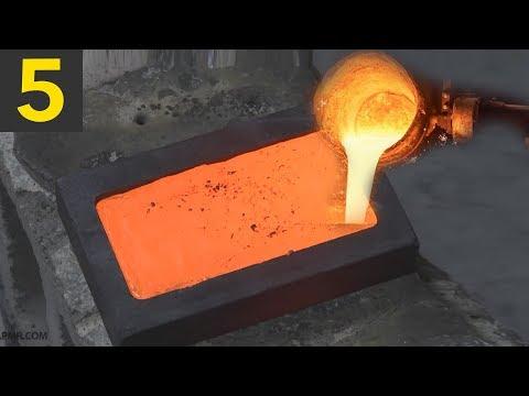 Top 5 Gold Bar Smelting Videos