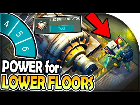 ELECTRIC GENERATOR For BUNKER FLOOR 5 + 6 In Last Day On Earth Survival Update 1.14