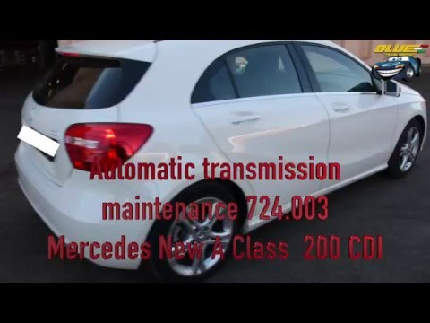 New Mercedes A Class 200 CDI  Semi automatic transmission maintaince DTC