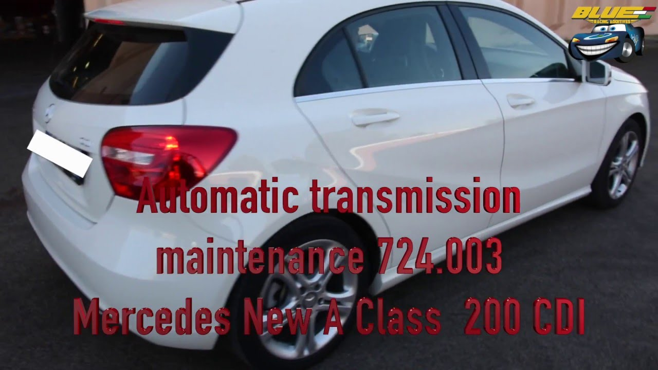 New Mercedes A Class 200 Cdi Semi Automatic Transmission Maintaince