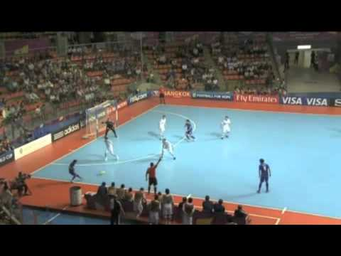 FIFA Futsal World Cup 2012 | Paraguay 3 - 2 Thailand