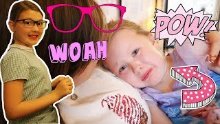 WHEN OUR GIRLS FIGHT! + ISABELLE GETS HER NEW GLASSES!!
