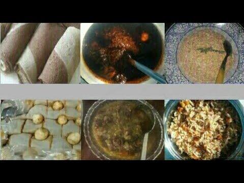 Ethiopian food-የበሬ ስጋ ቀይና አልጫ ወጥ