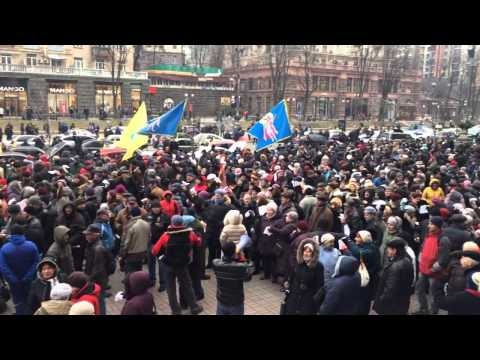 Anti-Klitschko Rally in Kiev