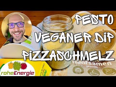 Veganes Rezept für Pesto, Pizzaschmelz & Dip