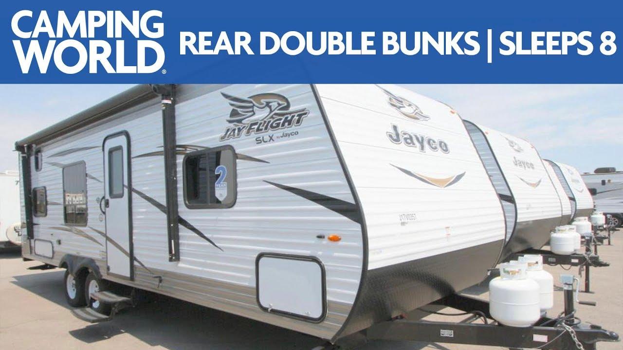 2018 Jayco Jay Flight Slx 8 264bh Bunkhouse Travel Trailer Rv Review Camping World