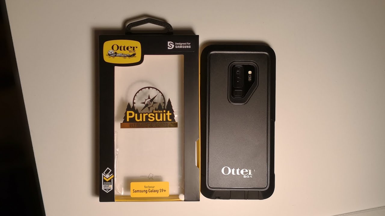 competitive price 8787e e2c70 Galaxy S9/S9+ Otterbox Pursuit Unboxing & Review