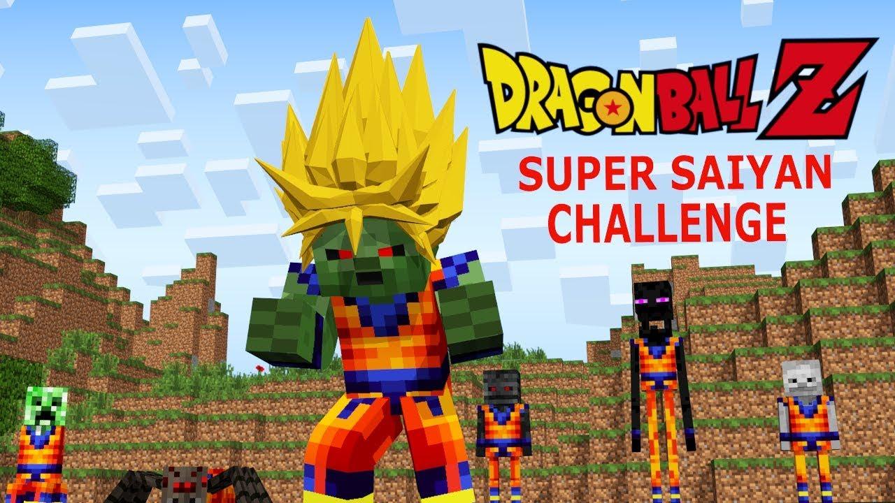 Monster School: Dragon Ball Z Challenge - Super Saiyan (Minecraft Animation) #1