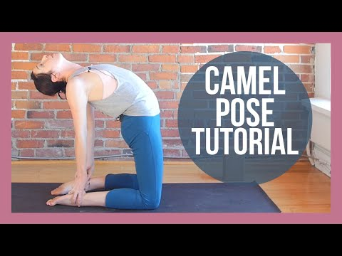 Camel Pose Tutorial - Camel Backbend Yoga Tutorial