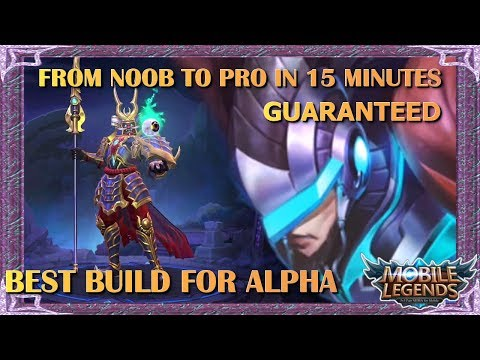 Mobile Legends Best Alpha Build Of All Time / Unbeatable Guide