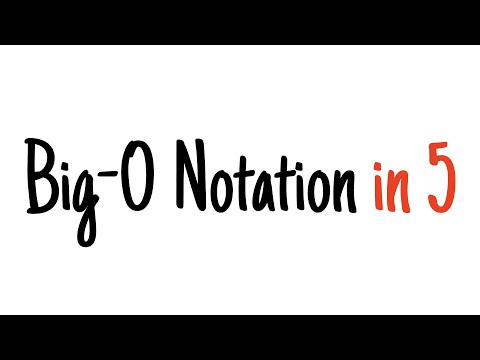 Big-O notation in 5 minutes — The basics