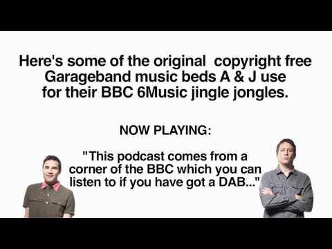 Adam and Joe's instrumental jingle music beds