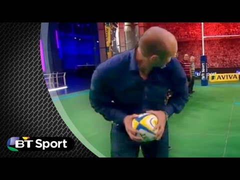 Ben Kay nails reverse trick pass | Rugby Tonight