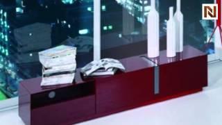 Pisa - Modern Red Tv Stand Vgwcpisa-tv