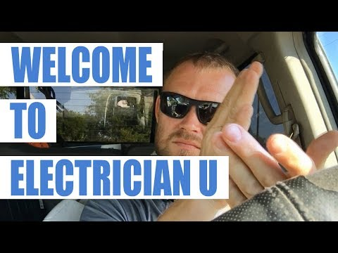 Welcome To Electrician U - Electrical Training Made By Electricians For Electricians