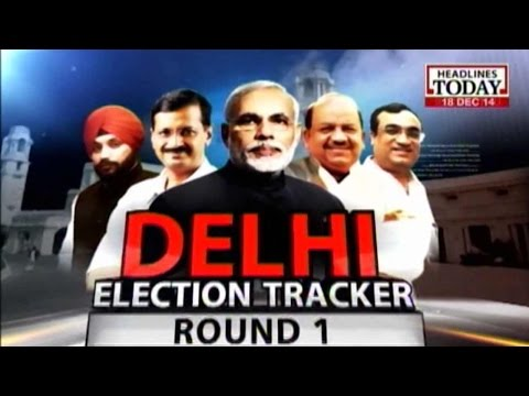 News Today At Nine: Delhi Election Tracker Round 1 (Part 1)
