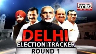 News Today At Nine: Delhi Election Tracker Round 1 (Part 1)