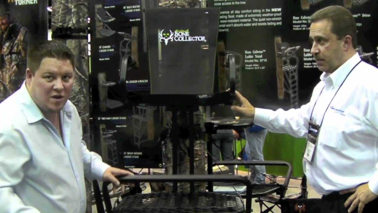 Ameristep 2011 Bone Collector Deluxe Hang On Treestand Review Youtube