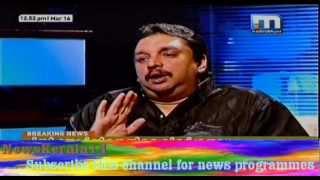 """Shibu Baby John Interview in """"Akam Puram"""" on Mathrubhumi News"""