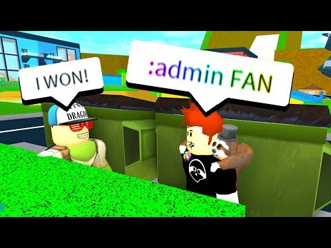 IF YOU FIND ME, I GIVE YOU ADMIN COMMANDS! Roblox