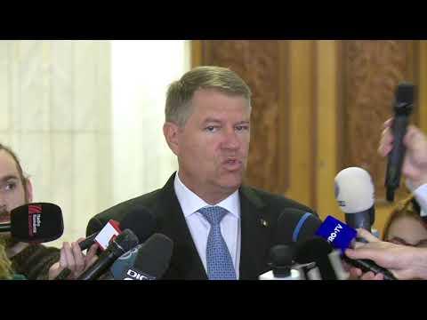Declaratii Klaus Iohannis după deschiderea Summit-ului B9 de la Bucuresti