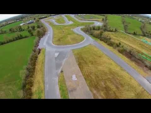 Drone Q500 Fly Over Pallas Karting Tynagh