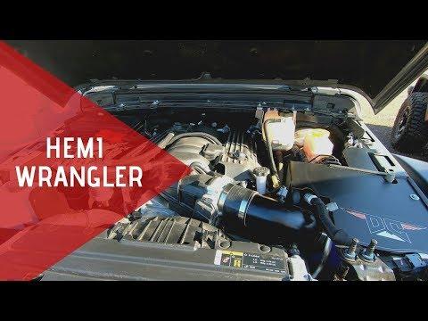 Drive An SRT 6.4L Hemi 2018 Jeep Wrangler JLU by Dakota Customs