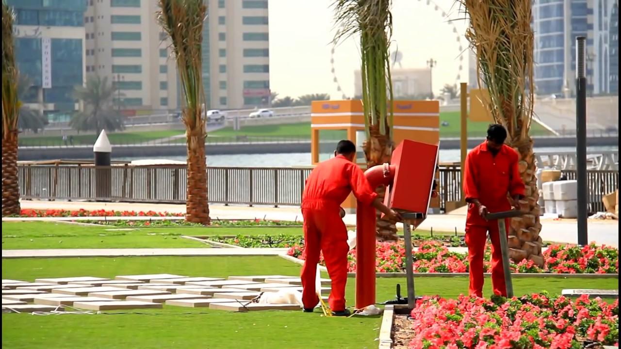 Al Majaz Waterfront Park Sharjah . Full HD الواجهة المائية