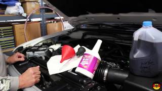 2005-2013 (2nd Generation) Nissan Xterra Power Steering Fluid Change