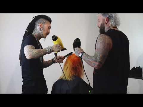 Mustard + Yams Hair Color