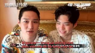 bogummievn vietsub go kyung pyo and park bo gum self portrait mark kogyo tv 2 shots