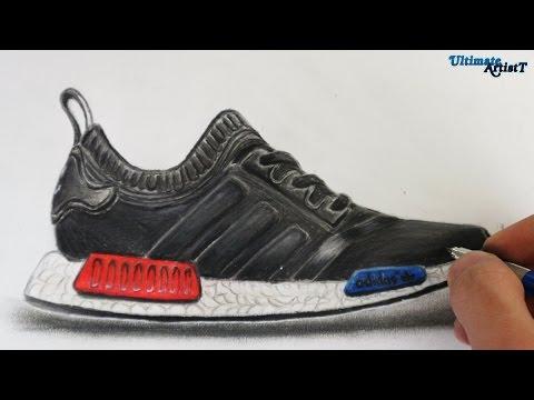 adidas nmd drawing