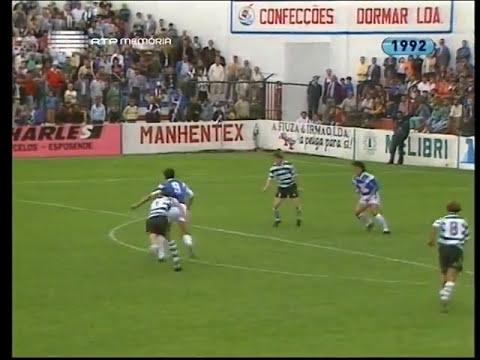07J :: Gil Vicente - 1 x Sporting - 0 de 1992/1993