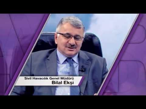 SHGM GENEL MÜDÜRÜ BİLAL EKŞİ AİRPORT'TA