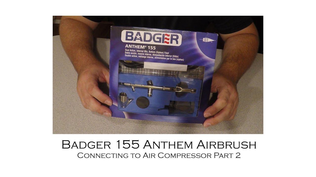 Badger 155 Anthem Airbrush Set # 155-1