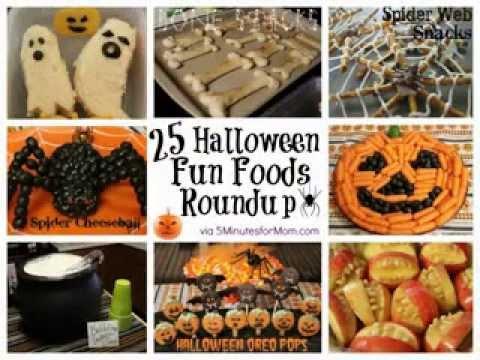 Diy Halloween Party Food Decorations Ideas Youtube