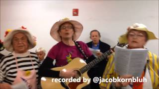 Video The NYC Metro Raging Grannies On NYC2013 Mayoral Race download MP3, 3GP, MP4, WEBM, AVI, FLV Maret 2018