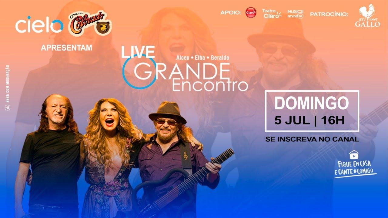 Live O Grande Encontro - Alceu Valença, Elba Ramalho e Geraldo Azevedo #LiveOGrandeEncontro