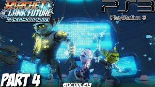 Ratchet & Clank Future: A Crack in Time Gameplay Walkthrough Part 4 - Axiom City - PS3 Lets Play