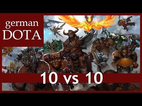 Dota 2 - 10 vs 10 - 10 Divine Rapier